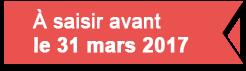 Fortissimo - A saisir avant le 31 mars 2017