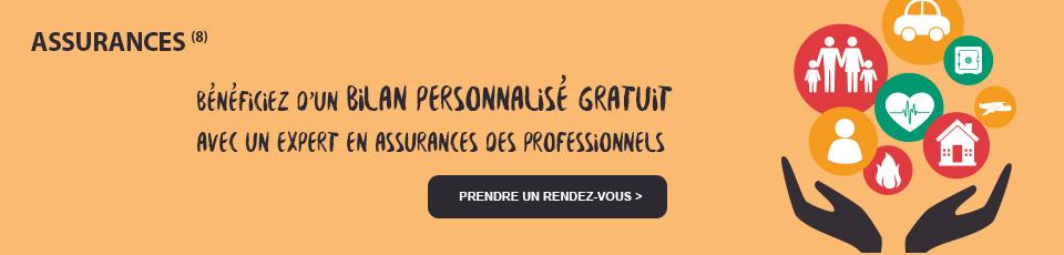 Assurances, Bénéficiez d'un bilan personnalisé gratuit avec un expert en Assurances des professionnels. Prendre un rendez-vous >